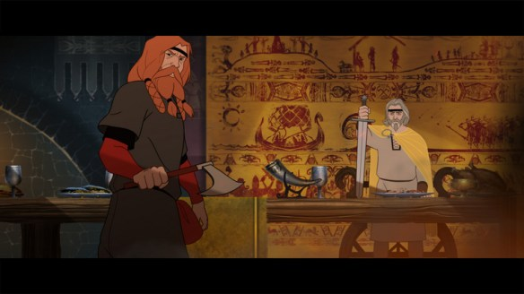 A scene from Banner Saga Factions, available on Steam.