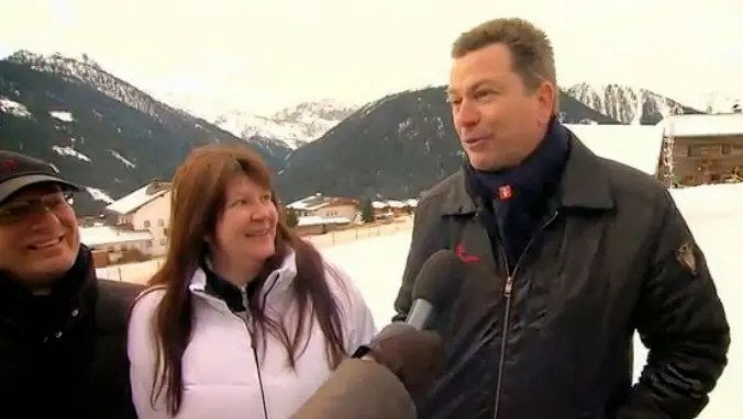 James Bond Club Switzerland President Markus Hartman in an interview with German TV channel Pro7 / Photo: Pro7