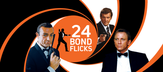 Canadian CraveTV offers 007 on demand 24/7