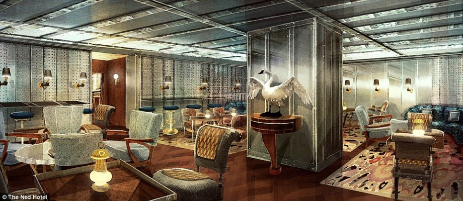 "Luxury London hotel to feature ""Goldfinger"" bar"