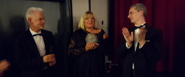 Béatrice Libert honored at Cineways Filmfestival 2017