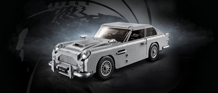 Lego launches Aston Martin DB5
