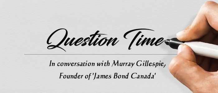 Question Time - In conversation with Murray Gillespie