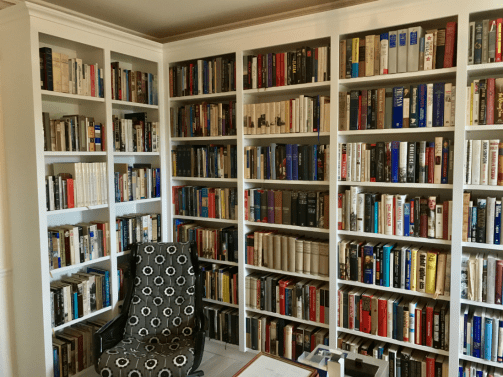 Custom Made Bookcases