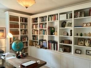 Custom Made bookcases to create home office