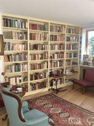 Wall to Wall book shelving