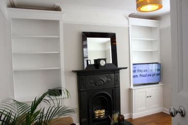 alcove units media furniture
