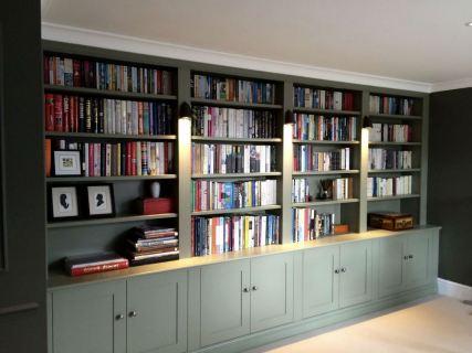 Stylish bookcase unit