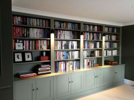 Stylish bookcase unit