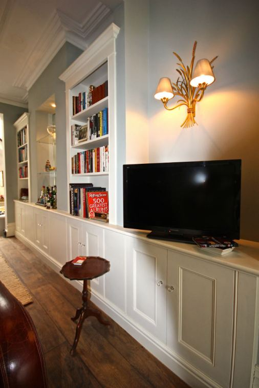 custom bespoke bookcases