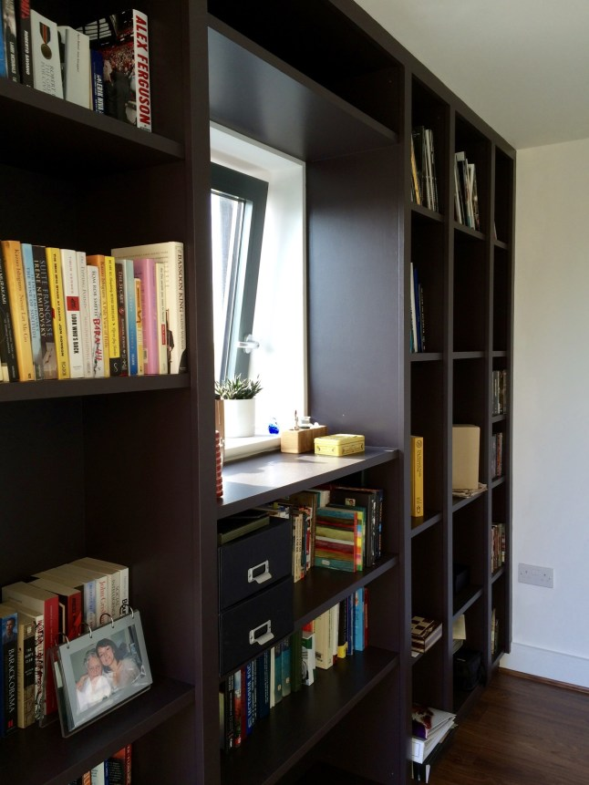 Built In Bookcase Unit