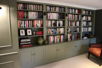 Library office shelving