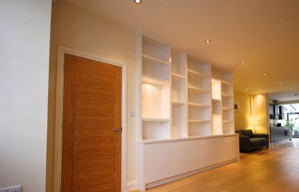 Modern Bookcase in Little Chelsea Barnes