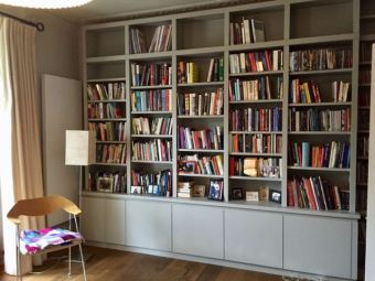 Bespoke free standing Bookcase
