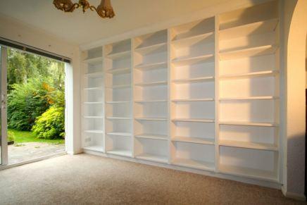 bespoke bookcases epsom