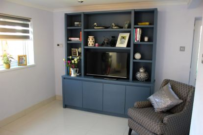 Media Furniture in Farrow & Ball colour