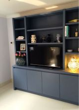 Contemporary media entertainment unit in Wandsworth