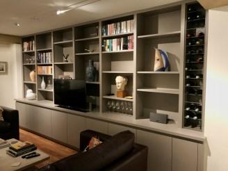 bespoke media furniture custom built in media furniture