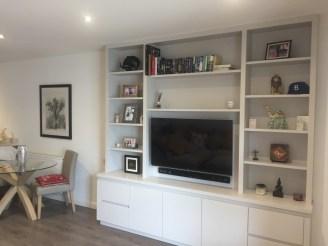 Stylish TV storage unit