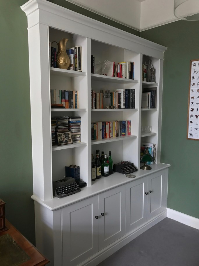 Shaker Style Bookcase/Cupboard Unit