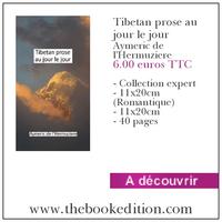 Le livre Tibetan prose au jour le jour