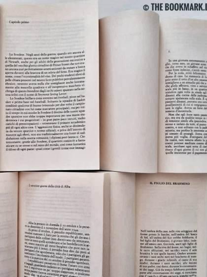 I libri e gli incipit