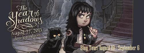 Year of Shadows Blog Tour Banner