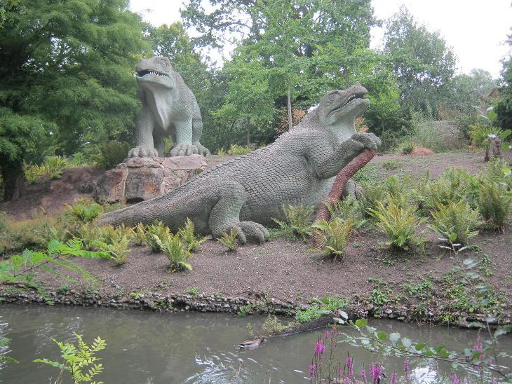 Crystal Palace Dinosaurs Iguanodons-small