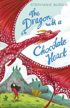 Dragon with Chocolate Heart UK