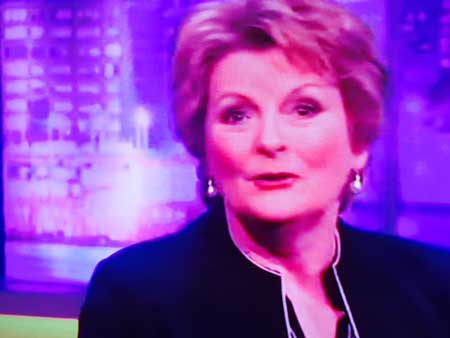 Brenda Blethyn on the Jonathan Ross Show Jan2016