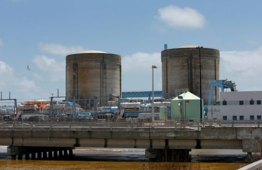 Plans to expand the Turkey Point Nuclear Reactor power station are on hold. AFP Photo