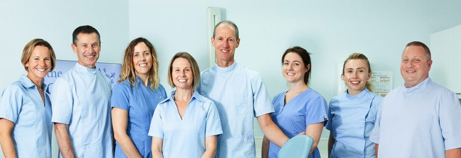Clinical Dentists and hygienists – Jenny standing – widescreen