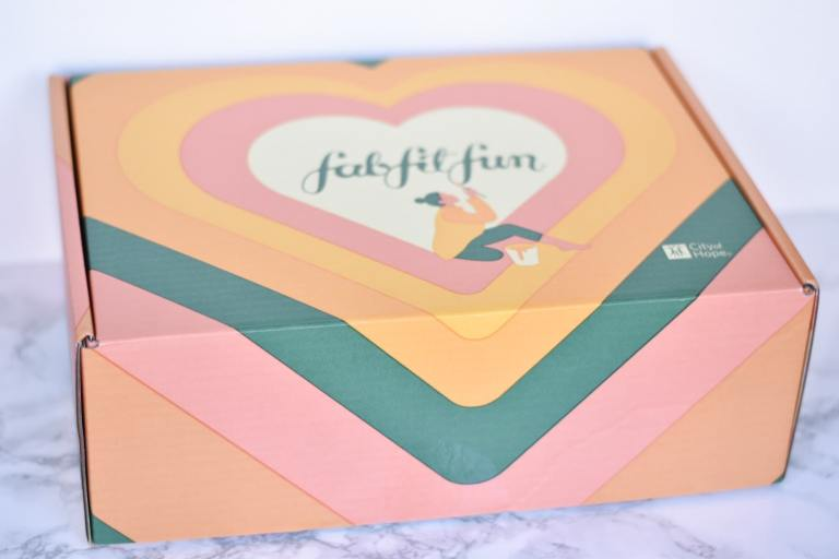 Outside of Fabfitfun Fall Box