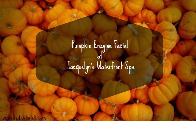 pumpkin spice facial