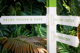 Marie Selby Botanical Garden Sign