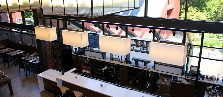 Hilton Boston Dedham Renovated Bar