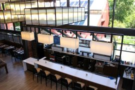Hilton Boston Dedham Renovated Bar