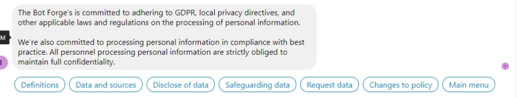 GDPR-Chatbot_Privacy_Menu