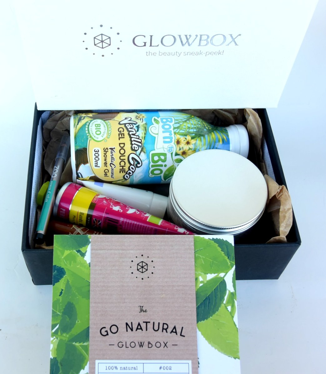 Glowbox #GoNatural Box - Unboxing and first impressions