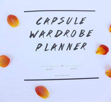 Starting the 'capsule wardrobe' experiment!