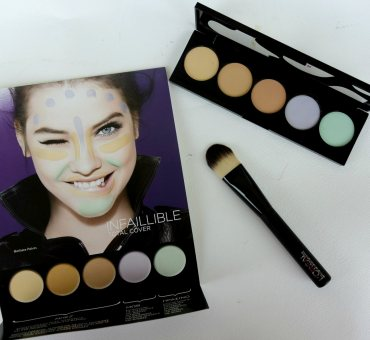 Go #undercover with the new Infaillible Total Cover Concealer Palette by L'OREAL