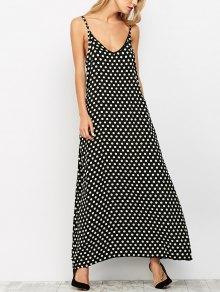 Polka Dots Maxi Dress