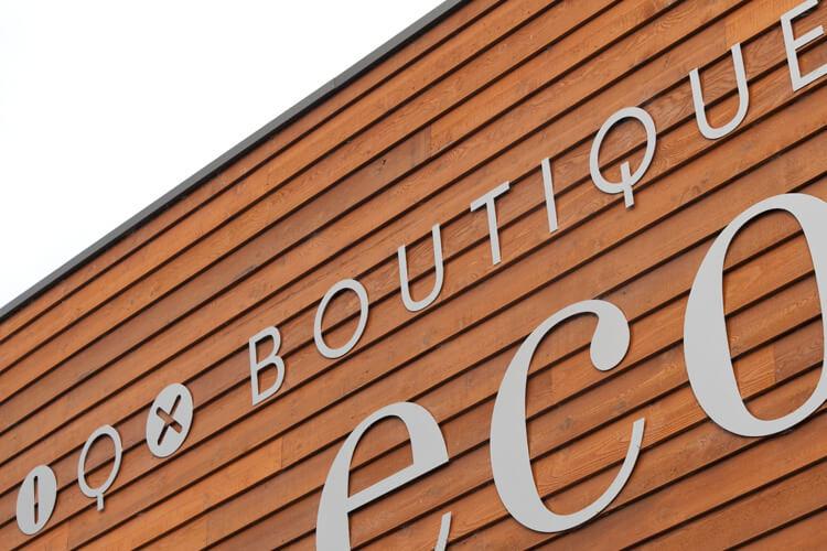 Boutique Eco Store Signage