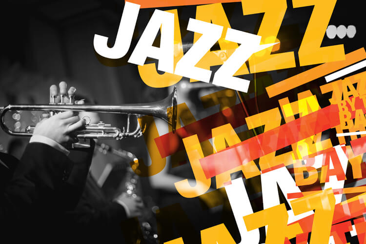 Jazz by the Bay Poster Logo