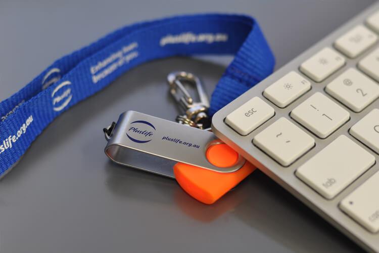 Plus Life Branded USB