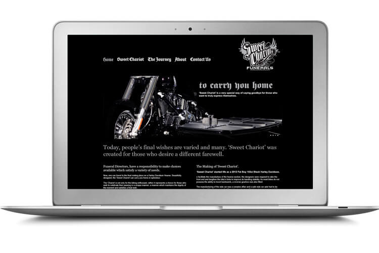 Bethany Funeral Homes Sweet Chariot Website
