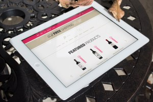 website wine pulse ipad