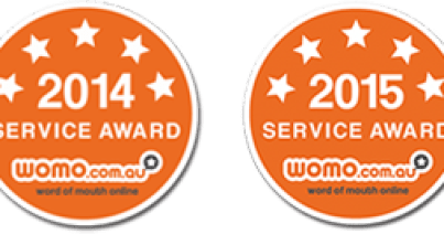 WOMO Service Awards