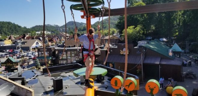 Gatlin's Rugged Ropes Adventure Course