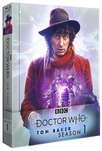 Doctor Who Tom Baker Seaon1 Blu-ray